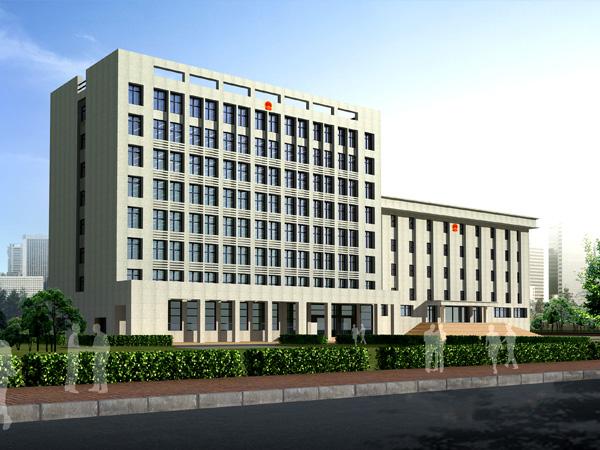洛阳高新区法院审判法庭建筑设计案例